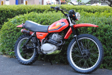 HONDA XL250S 1978